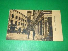 Cartolina Asolo - Piazza Del Municipio 1930 Ca - Treviso