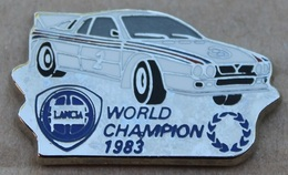 VOITURE LANCIA - WORLD CHAMPION 1983 - RALLYE - ELIXYR - CAR -          (JAUNE) - Rallye