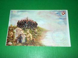 Cartolina Militaria 91° Reggimento Fanteria 1910 Ca - Régiments