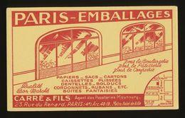 Buvard - PARIS EMBALLAGES - Blotters