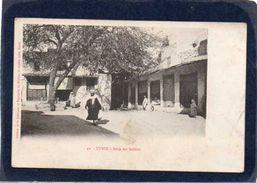 Tunis - Souk Des Selliers   Cpa Trés Animée Année 1912 - Tunisie