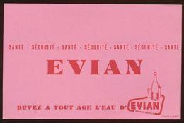 Buvard - EVIAN - Blotters
