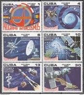 CUBA 1980, SPACE, INTERKOSMOS, COMPLETE MNH BLOCK, GOOD QUALITY, *** - Kuba