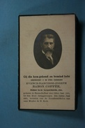 Evence Baron Coppée Haine-St-Paul 1851 1925 /033/ - Images Religieuses