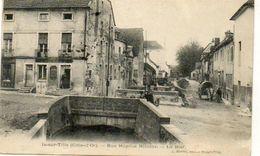 CPA - IS-sur-TILLE (21) - Aspect Du Bief Et De La Rue Hôpital Nicolas En 1904 - Is Sur Tille