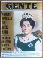 Rivista Magazine - Gente N° 41 1967 - Farah Diba Rita Pavone Puglia Dalida - Libros, Revistas, Cómics