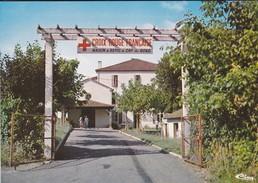 CROIX ROUGE FRANCAISE--47  Maison De Repos De Cap De Bosc--entrée--voir 2 Scans - Croix-Rouge
