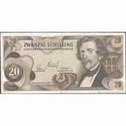 TWN - AUSTRIA 142a - 20 Shillings 2.7.1967 N 528596 D VF - Austria