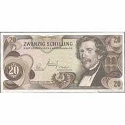 TWN - AUSTRIA 142a - 20 Shillings 2.7.1967 R 820832 K VF+ - Autriche