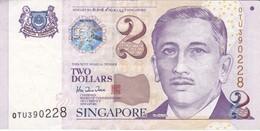 BILLETE DE SINGAPORE DE $2   (BANKNOTE) - Singapur
