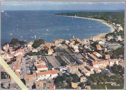 Vendée - Noirmoutier - Le Vieil - Vue Aérienne - Le Centre Du Bourg Et La Plage  - 10.5 X 15 Cm - Ile De Noirmoutier