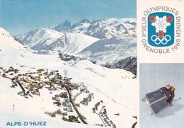 CARTE ALPE-D'HUEZ.  VUE GENERALE. J.O. GRENOBLE 1968 - France