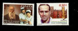 458777509 SPANJE 2002 POSTFRIS MINT NEVER HINGED EINWANDFREI  YVERT 3459 3460 - 1931-Aujourd'hui: II. République - ....Juan Carlos I