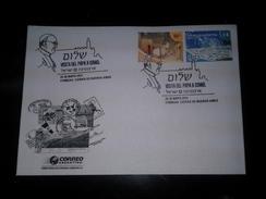 Visita A Israel Francisco I / Franziskus / Francesco - 25/05/2014 - Argentina - Special Cancel - Matasellos Especial - Papas