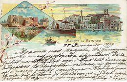 BRINDISI 1899-BAGNO PENALE-VIA MARINO - Brindisi