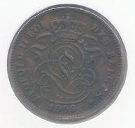 LEOPOLD II * 2 Cent 1909 Frans * Prachtig * Nr 9475 - 02. 2 Centimes