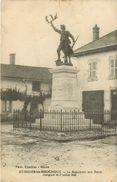 Dép 01 - St Nizier Les Bouchoux - Saint Nizier Les Bouchoux - Le Monument Aux Morts Inauguré Le 2 Juillet 1922 - état - Otros Municipios