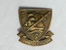 COMMANDO MARINE : INSIGNE BERET  : A.B. M.CHAUVET 1943  .......... #.2 - Marine