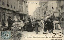 06 - NICE - Marché Aux Fleurs - Marchés, Fêtes