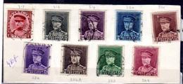 1931   Série Ø Roi Albert Avec Képi, 317 / 324 Oblitérée, Cote 21 €, - 1931-1934 Képi