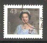 005152 Canada 1992 Queen 43c FU - 1952-.... Reign Of Elizabeth II