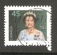 005153 Canada 1995 Queen 45c FU - 1952-.... Reign Of Elizabeth II