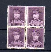 1931   Roi Albert Avec Képi, 319*, Cote 22 €, (pointes De Rouille) - 1931-1934 Képi