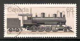 005154 Canada 1985 Trains 68c FU - 1952-.... Reign Of Elizabeth II