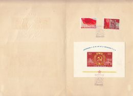 5426FM- ROMANIAN COMMUNIST PARTY ANNIVERSARY, BOOKLET, 1961, ROMANIA - Carnets