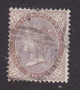 Jamaica, Scott #12, Used, Queen Victoria, Issued 1870 - Jamaïque (...-1961)
