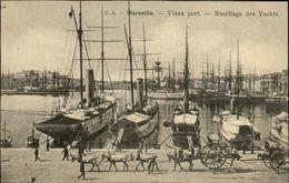 13 - MARSEILLE - Vieux Port - Bateaux - Yachts - Vieux Port, Saint Victor, Le Panier