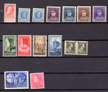 1905-51 EXPO 1935 Et Autres : Neuf Avec Charnière, Entre 74 Et 848*, Cote 33, 25 €, - 1931-1934 Quepis