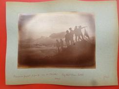 ASCENSION DU GRANQUET SOUM DE L ESTIBÈTE Par GUIDES LARY ROBERT CAMPAN LOUTARRES 1888 PHOTO 16.5 X 12 - Old (before 1900)