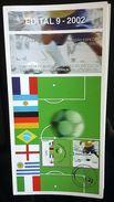 BRAZIL Edital Nº 09 - 2002 World Soccer Champions In The 20th Century - Brazil