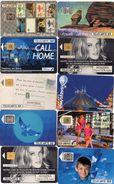 76St  Lot De 10 TC Télécartes Diverses 1 Pass Disneyland Et 2 Nouvelle Caledonie - Phonecards