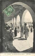 TUNISIE - GABES - LE MARCHE ARABE DE DJARA - Tunesië