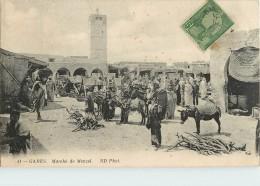 TUNISIE - GABES - MARCHE DE MENZEL - Tunisie