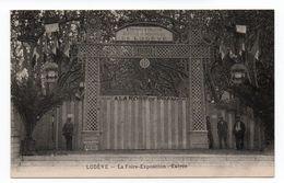 LODEVE (34) - LA FOIRE EXPOSITION - ENTREE - Lodeve