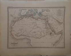 CARTE GEOGRAPHIQUE ANCIENNE: AFRIQUE Ancienne. - Geographische Kaarten