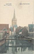 LEUVEN / ST GERTRUDE KERK / PASSERELLE  / ANIMATIE - Leuven