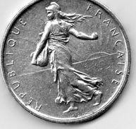 76Dg   Monnaie Française Argent De 5 Francs De 1963 - France