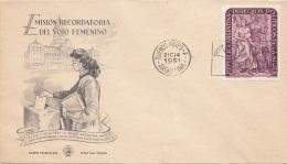 ARGENTINIEN 1951 - 10 C Sondermarke Auf Erstagbrief - FDC