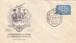 ARGENTINIEN 1955 - 3 Pesos Sondermarke Auf Erstagbrief - FDC