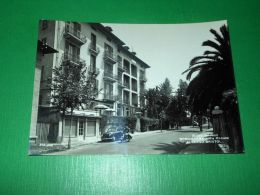 Cartolina Bordighera - Via Romana - Albergo Bristol 1966 - Imperia