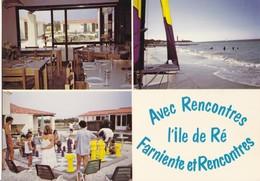 """SAINT-CLEMENT DES BALEINES. - Centre De Vacances """" Rencontres """". CPM - Ile De Ré"""