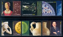 PORTUGAL 2006 Gulbenkian Foundation Set (6v + 1 MS), XF MNH, MiNr 3073-8, Block 243 - 1910-... Republic