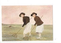 16958 - Pêche à La Crevette Shrimp Fishing  Berthine Marceau (format 10X15) - Pêche