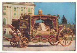 CHAR FUNEBRE ROUGE DE LA COUR DE VIENNE - Taxi & Carrozzelle