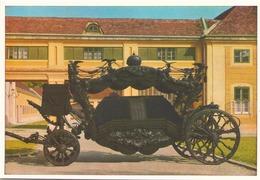 CHAR FUNEBRE NOIR DE LA COUR DE VIENNE - Taxi & Carrozzelle