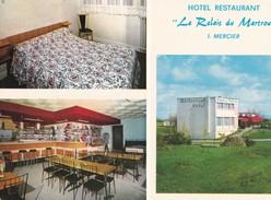 """HOTEL-RESTAURANT """" Le Relais Du Martrou """" . J. MERCIER - France"""